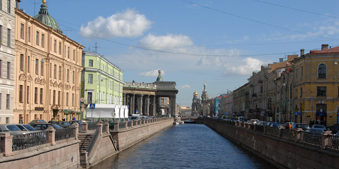 St. Petersburg, panoramic views