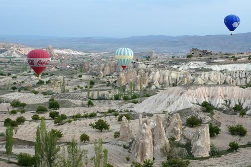 Kapadokia balloon fligth
