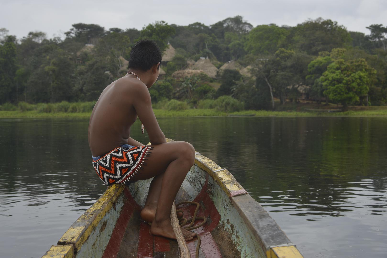 Panama – Visite chez les Embera