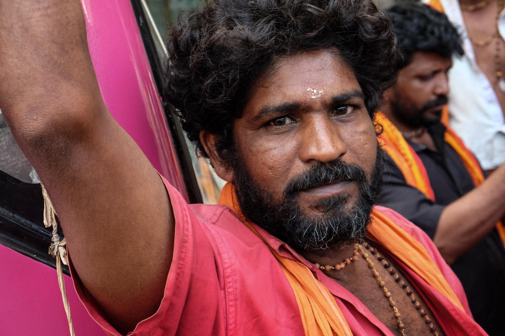 Pélerins du Kerala