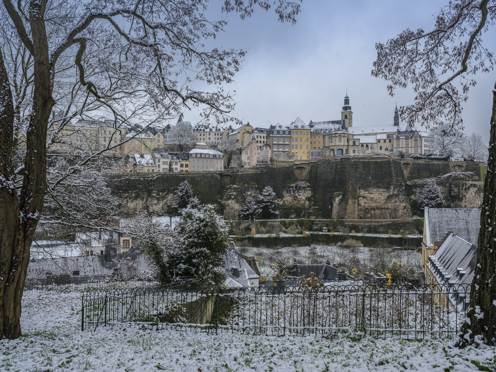 Luxembourg en hiver